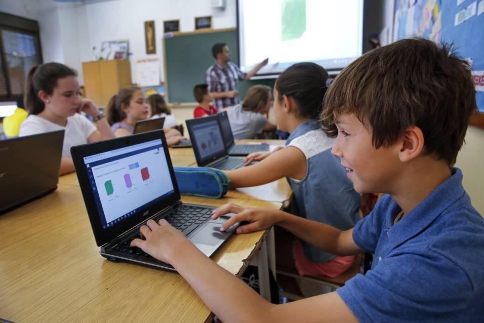 la tecnología como herramienta en clase