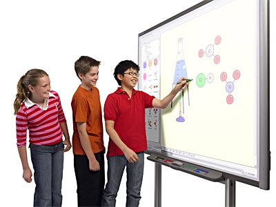 Pizarrones interactivos en las escuelas-Colegio-TAE