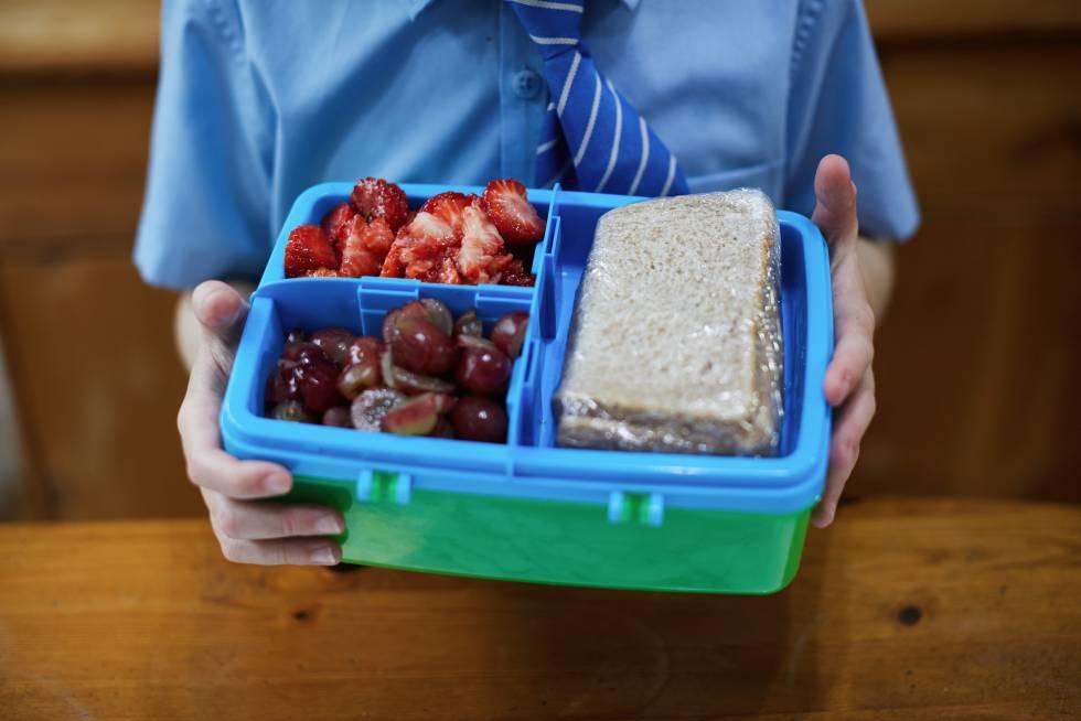 Healthy Snacks o refrigerio saludable-Colegio TAE